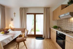 Wohnraum Ferienwohnung Terasse