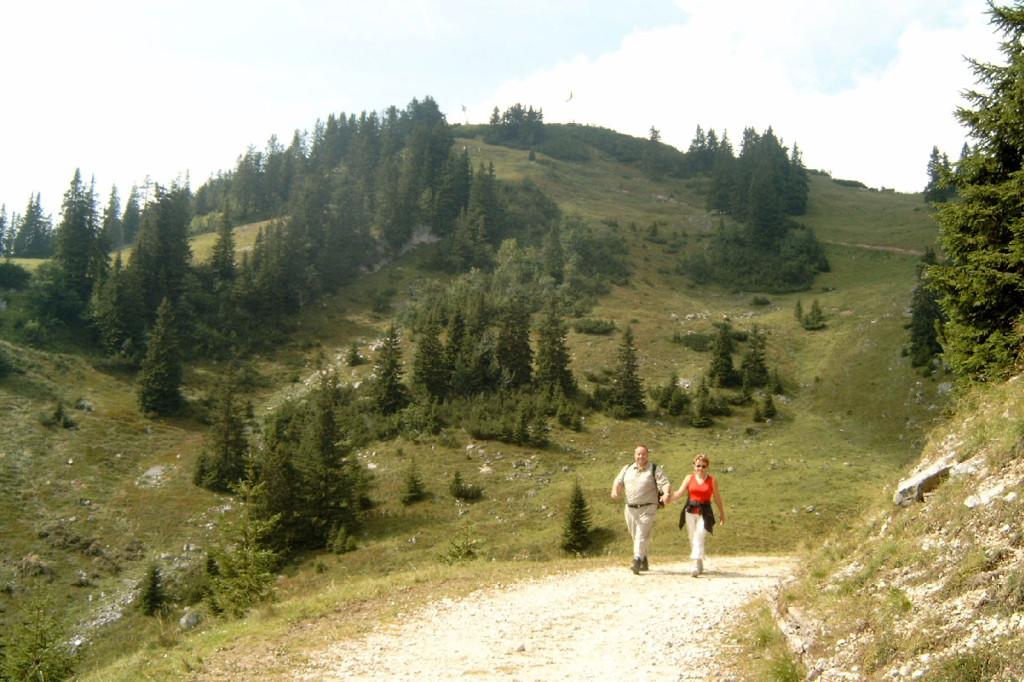 Eine Wanderung durch den Chiemgau